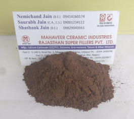 Red orcher powder in Udaipur, Rajasthan, India