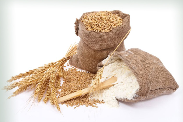 Wheat Grains and Wheat Flour