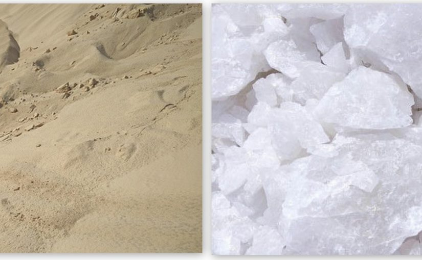 What is the difference between quartz and silica?