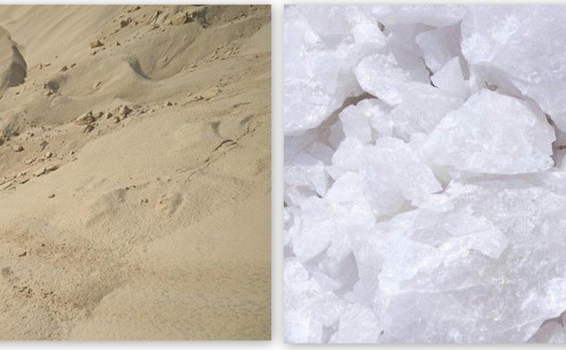 Quartz grits better than Silica sand?